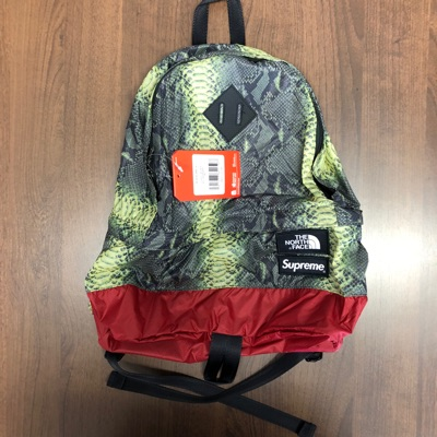 Supreme X The North Face Snakeskin Backpack(Green)