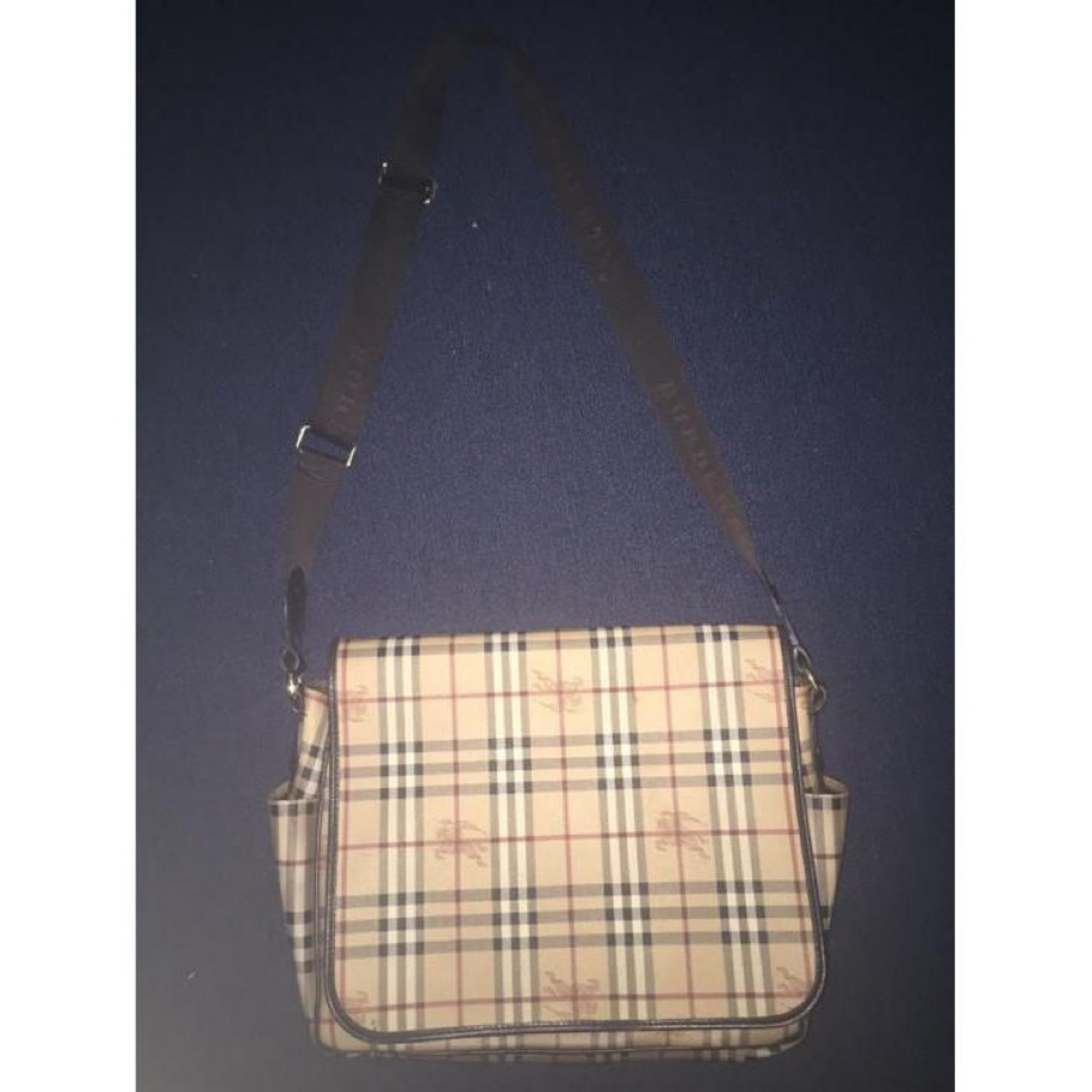 Burberry Large Messenger Shoulder Bag