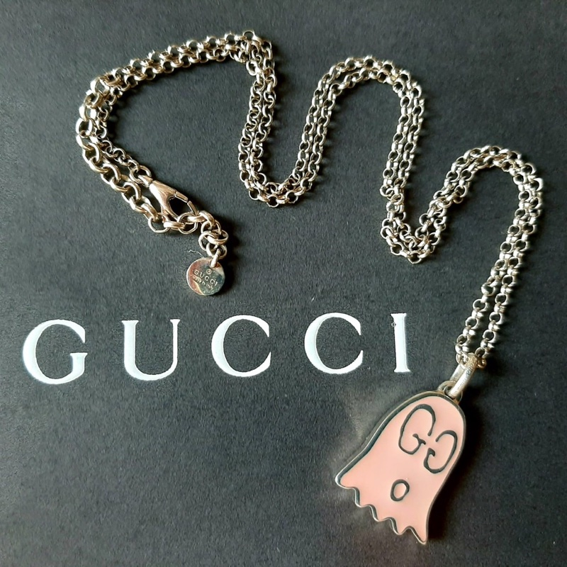 Gucci Ghost Pink Necklace