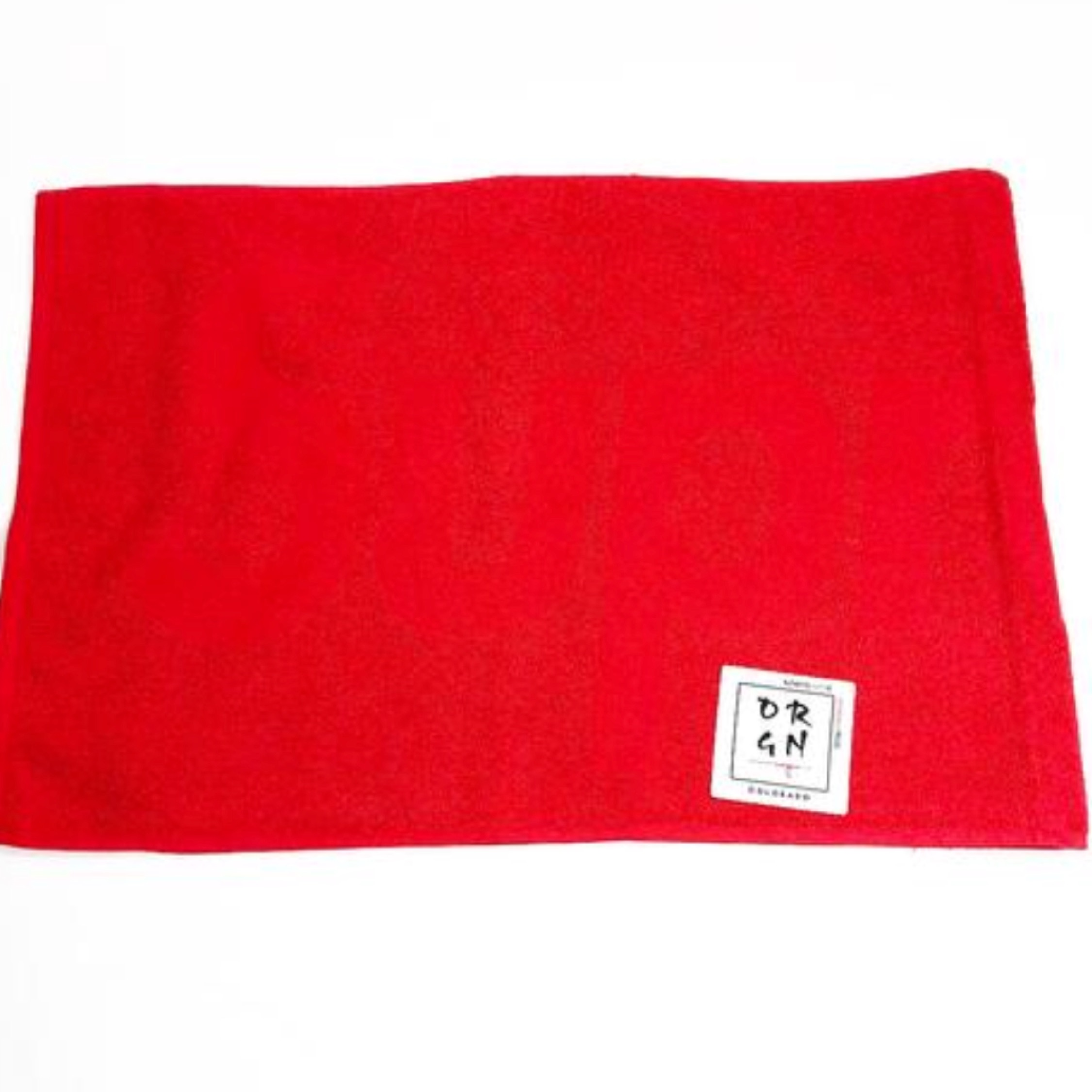Supreme Terry Hand Towel Red New
