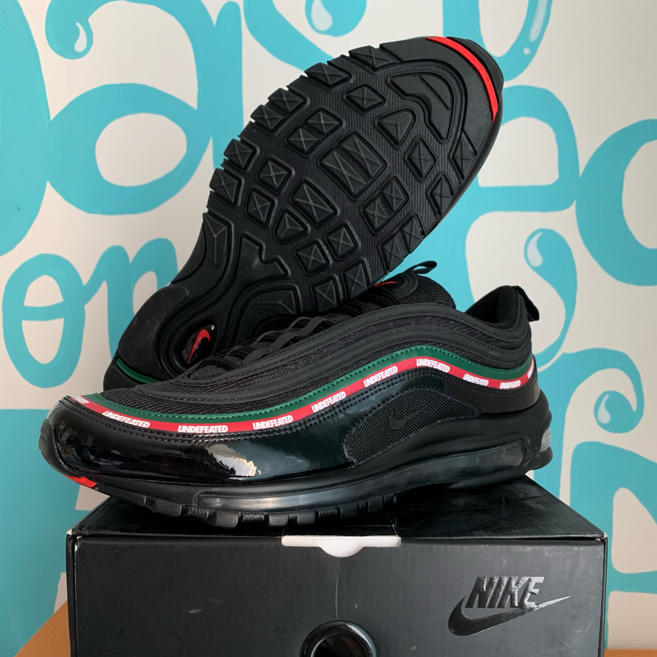 competitive price 2fbf8 17b89 Nike Air Max 97 Undefeated Black