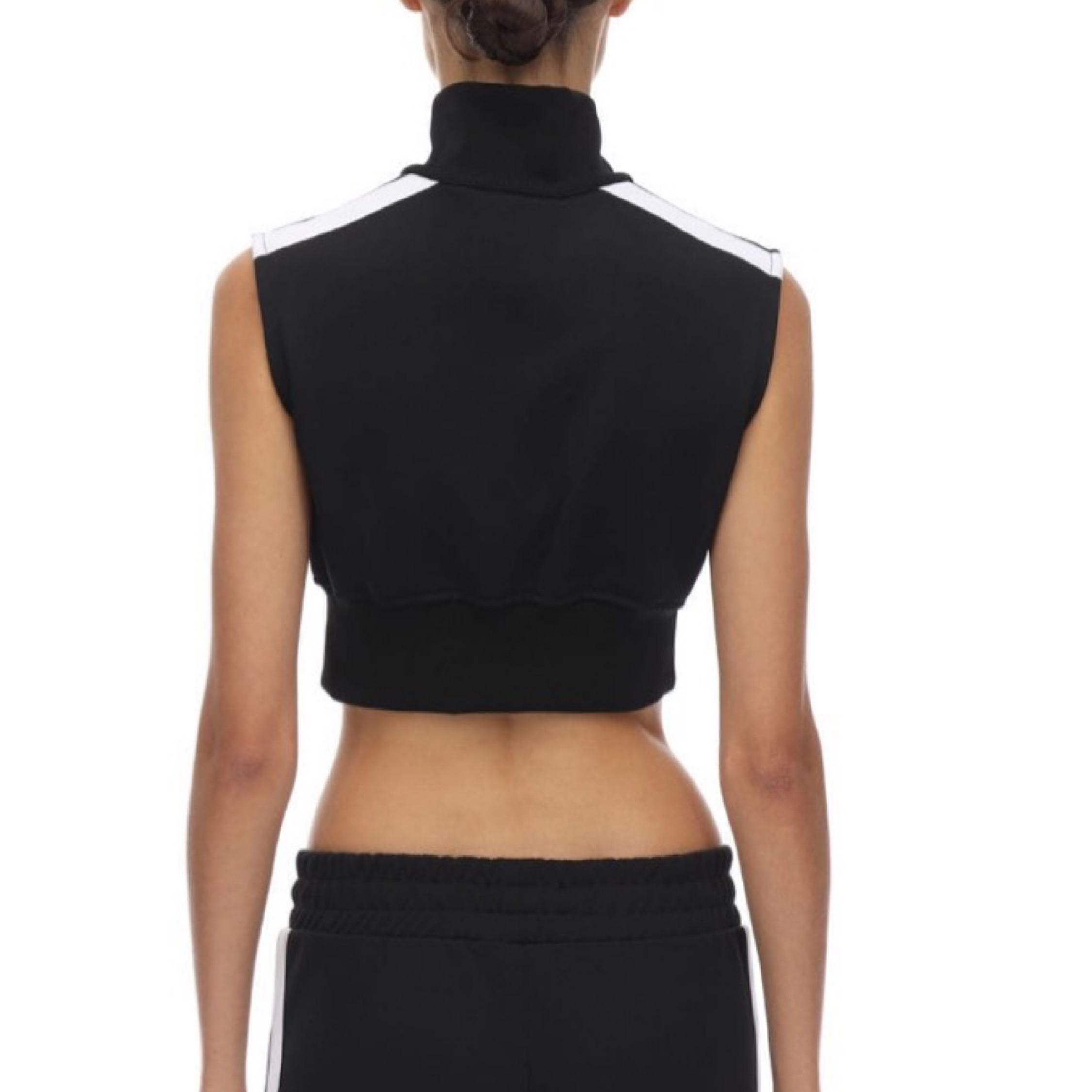 Palm Angels Top Cropped Jersey