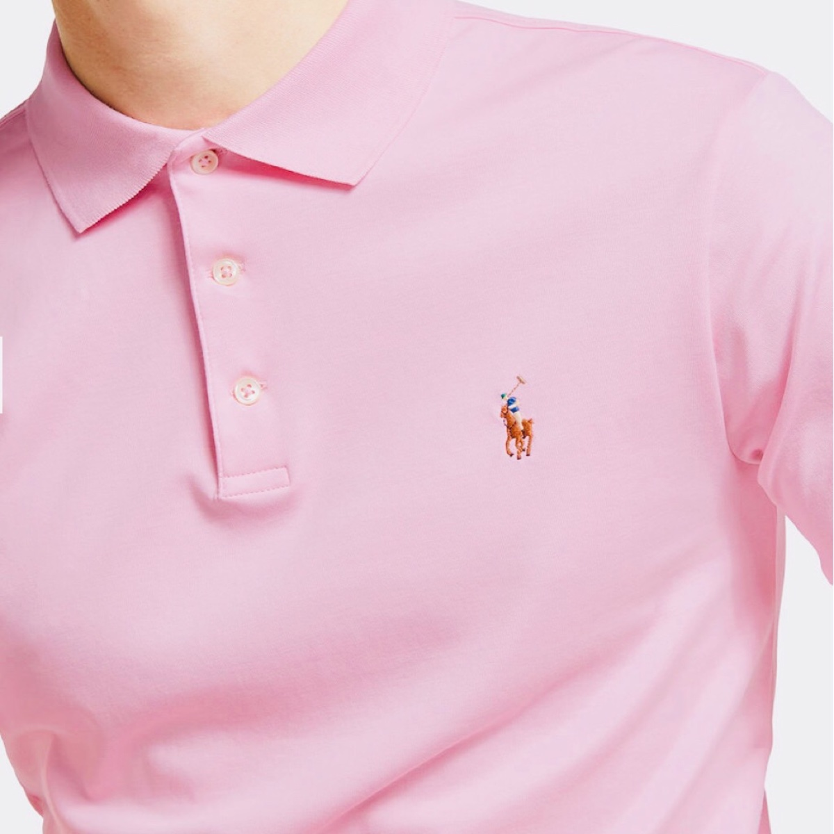Polo Ralph Lauren Slim Fit Interlock Polo Shirt,