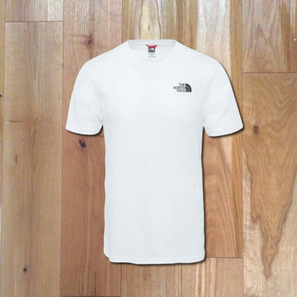 North Face T Shirt In White