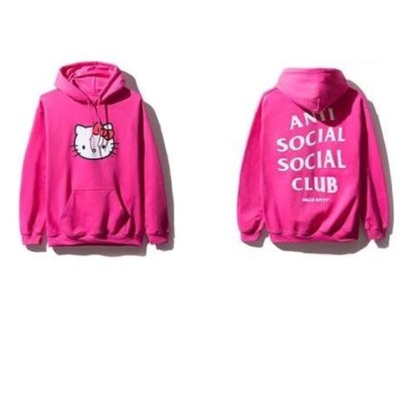 Anti Social Social Club X Hello Kitty Hoodie