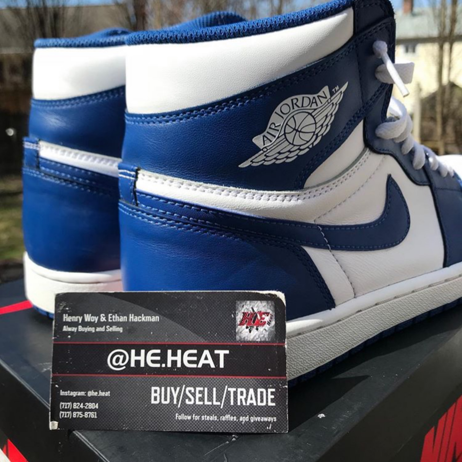 1772605aebe397 Air Jordan 1 Retro High Og  Storm Blue