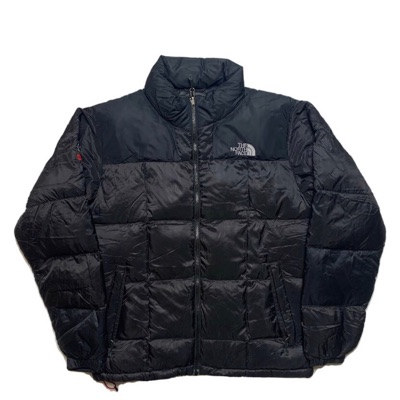 Black North Face Nuptse Puffer Jacket