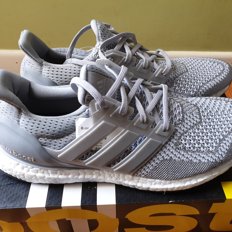 official photos 38a75 498c5 Adidas ultra Boost 1.0 Og Silver Us10
