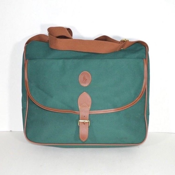 Vintage Ralph Lauren Messenger Shoulder Bag