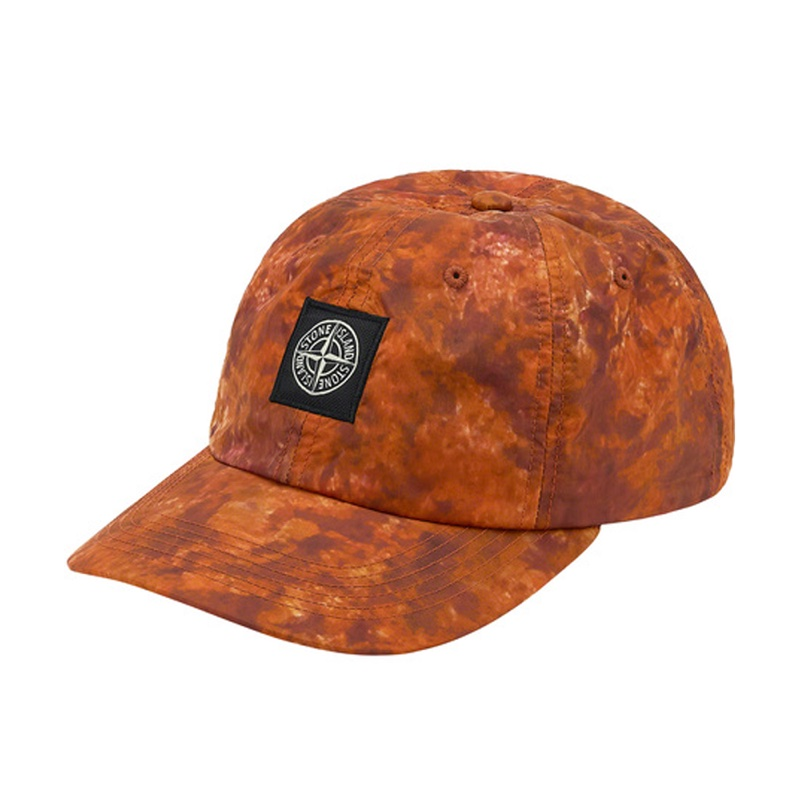 Supreme Stone Island  Nylon 6 Panel Orange