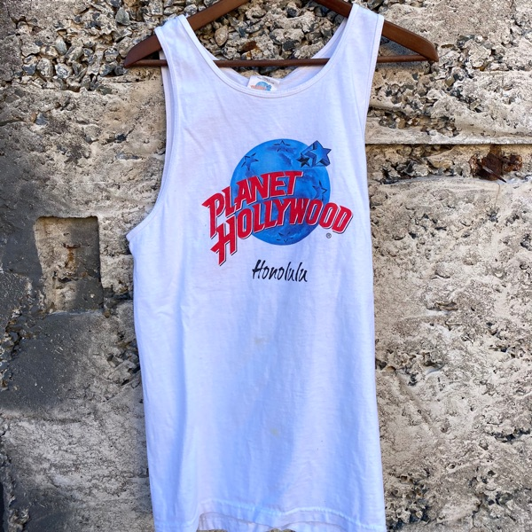 Vintage Planet Hollywood Tank Top