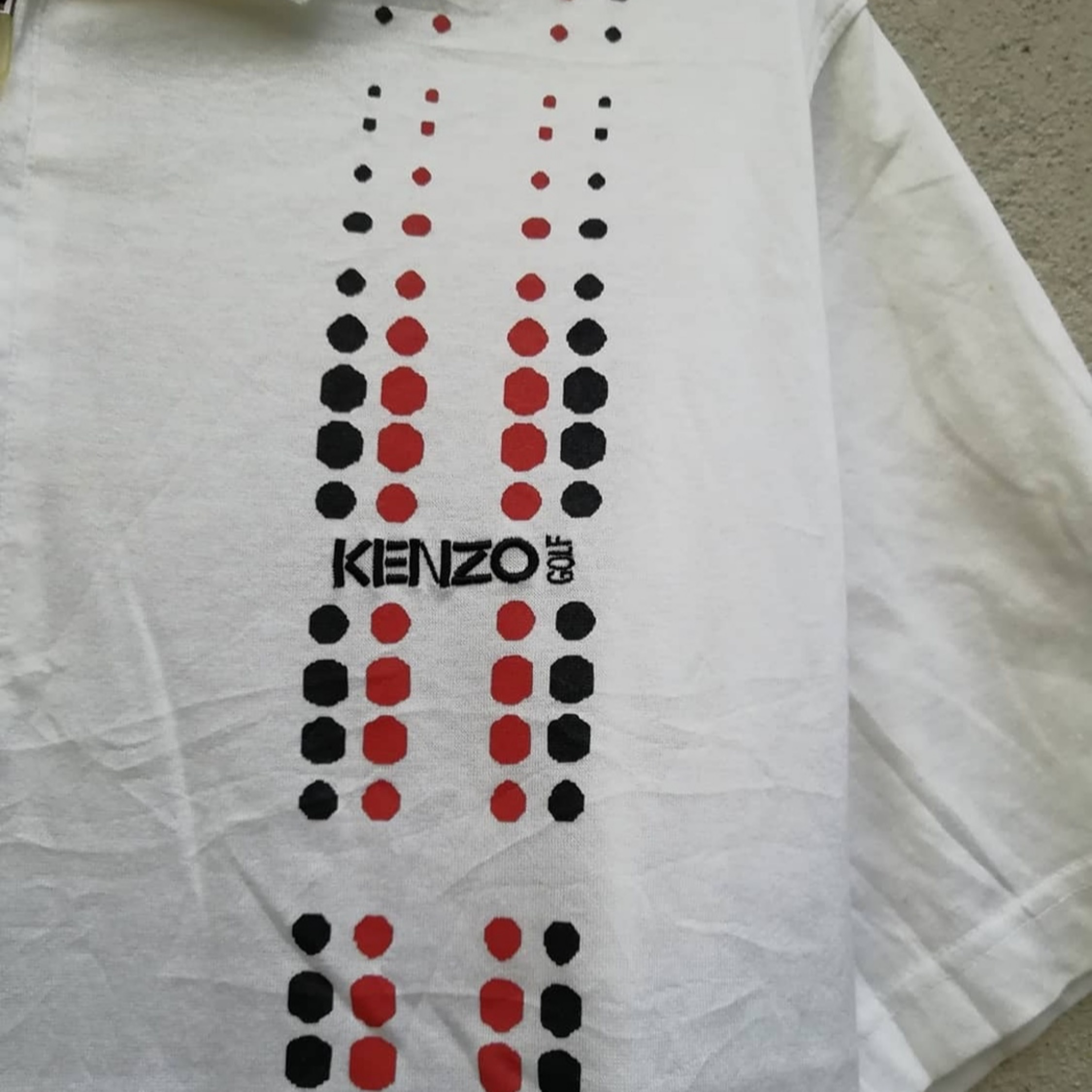 Kenzo Golf Top Size Large