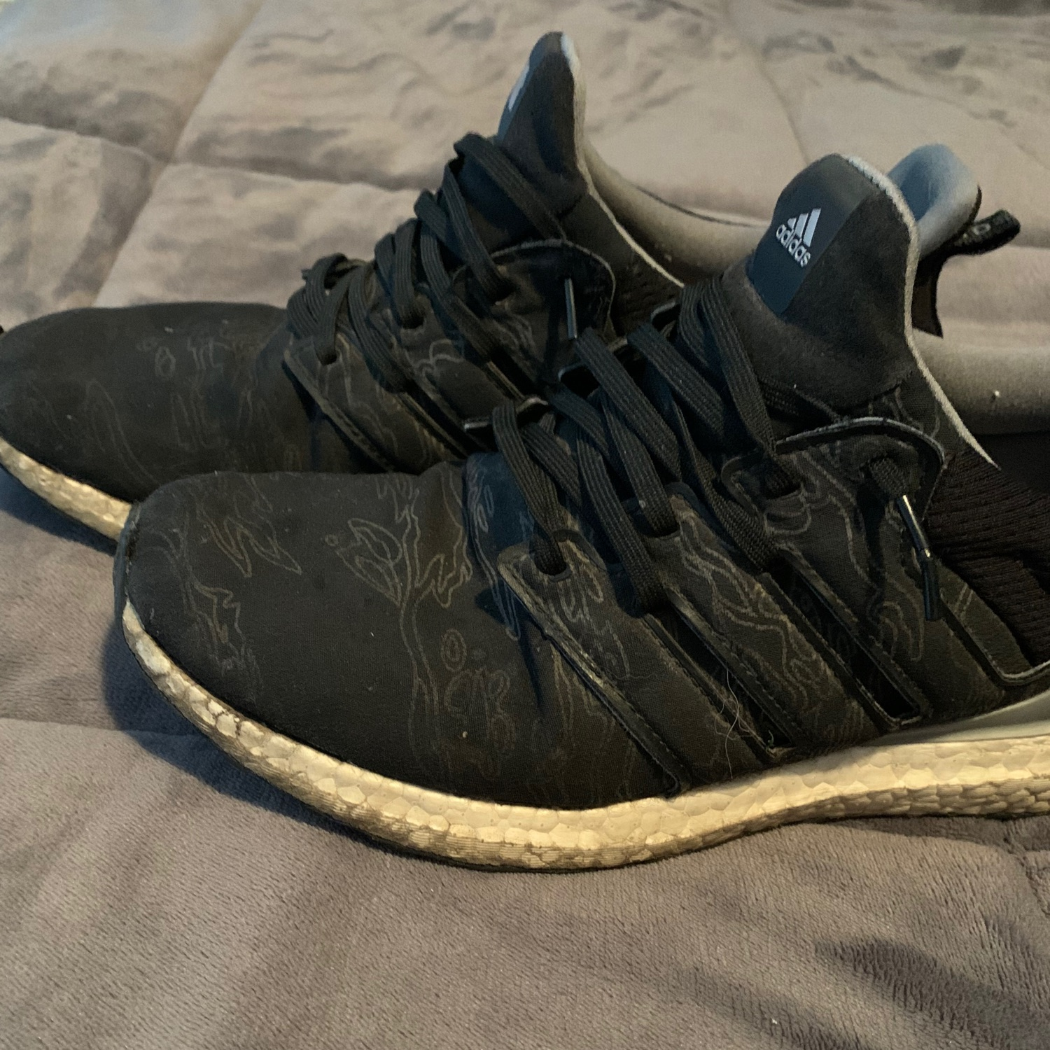 undefeated x ultra boost utility black