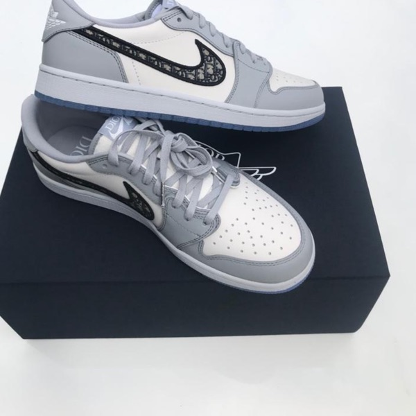 Dior Jordan Low Grey Uk 9.5 Us 10.5 Eur 44.5