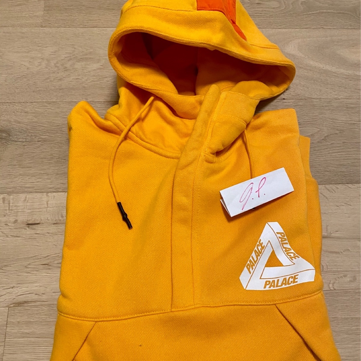 Palace Smocker Sweat Yellow
