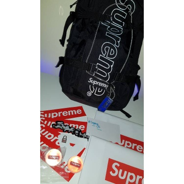 Supreme & Palace stickers and accessories