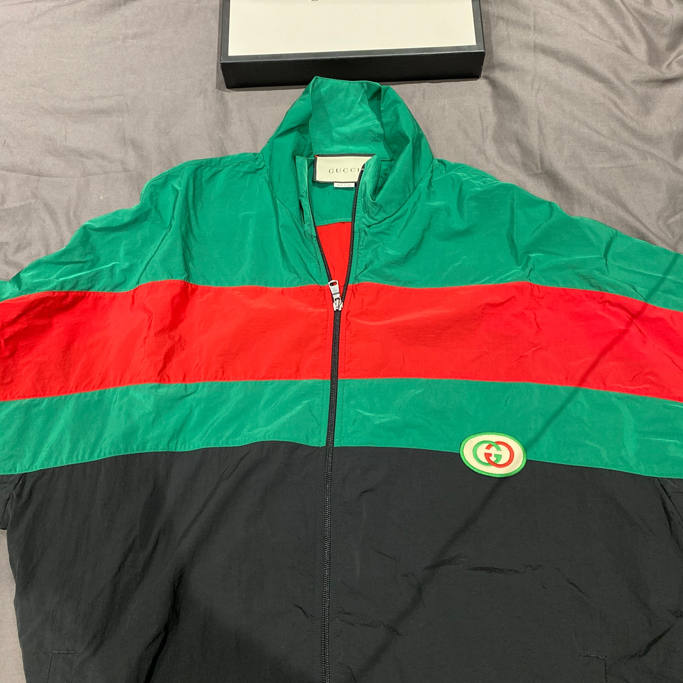 Gucci Nylon Track Jacket Collection 500Quid