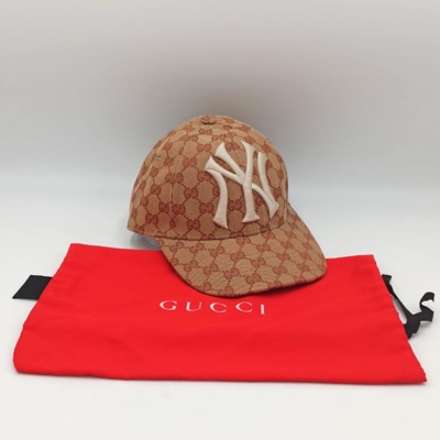Perfect Gucci New York Yankee's Cap Nba W/ Dustbag