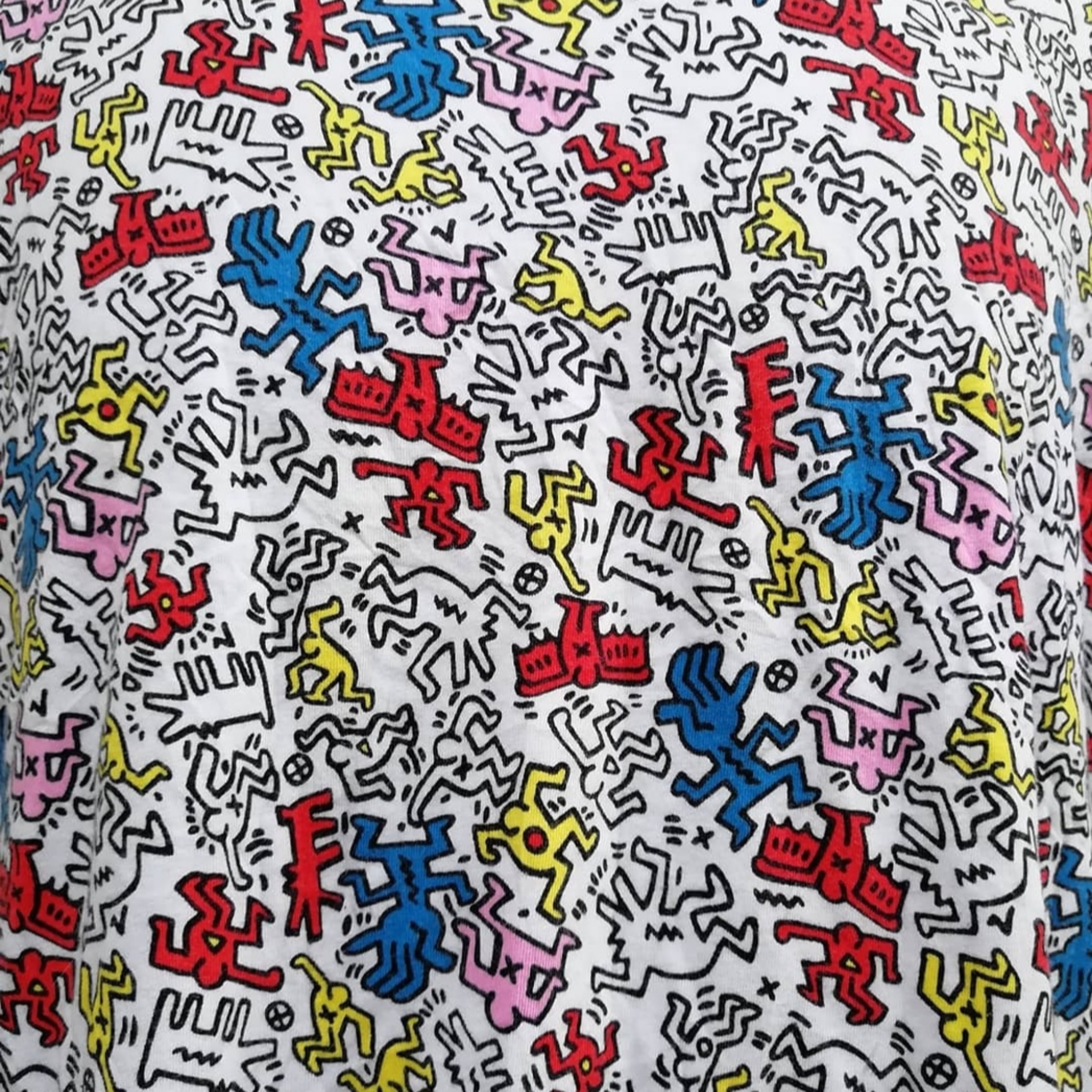 Keith Baring Pop Art Tee Size Small