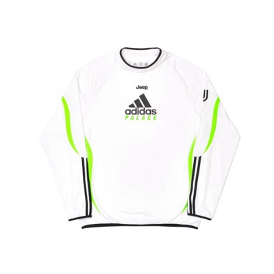 Adidas Palace Juventus Warm Up Top White