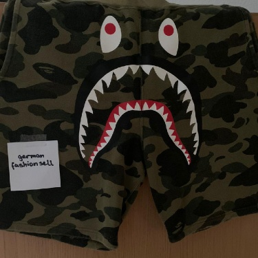 🔥BAPE 1st Camo Shark Sweat Shorts🔥