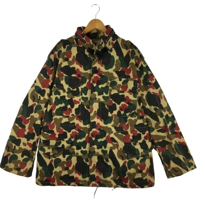 Jackets Multicolor Camouflage Military