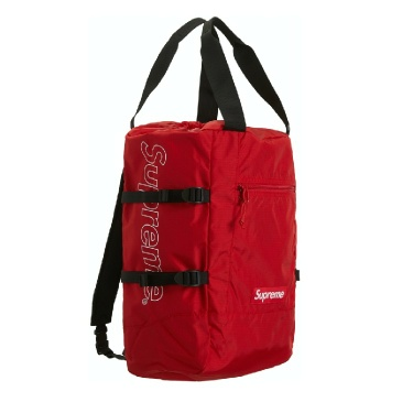 SS19 Supreme red tote backpack cordura fabric