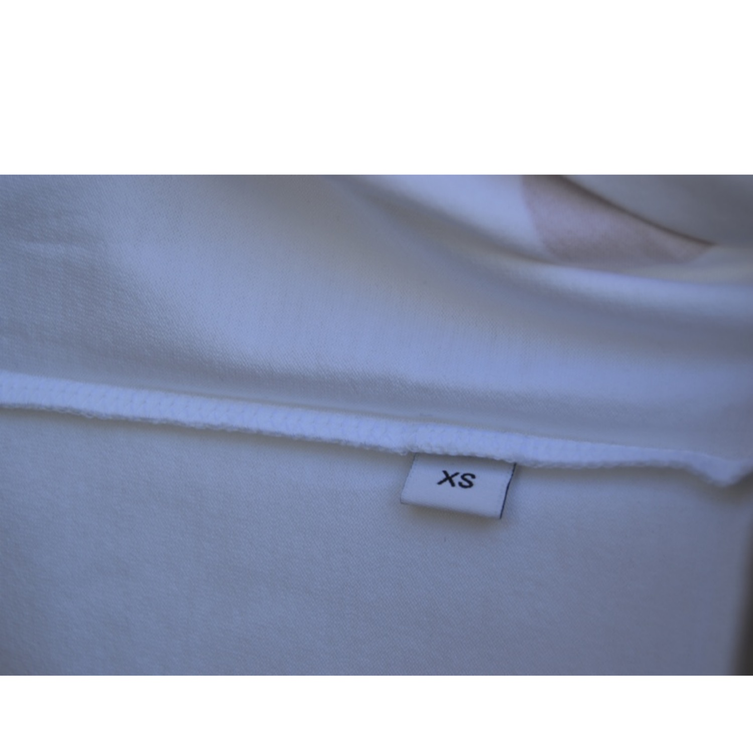Givenchy White And Red Hem Logo T-Shirt