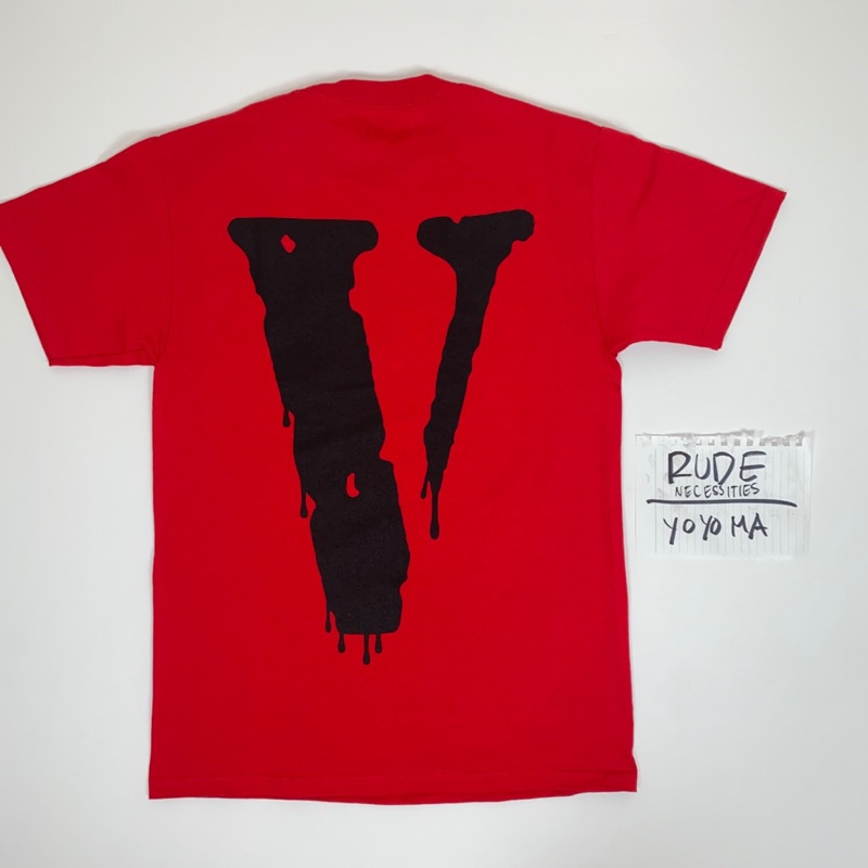 Vlone x NAV Bad Habits 'Red Drip' Tee