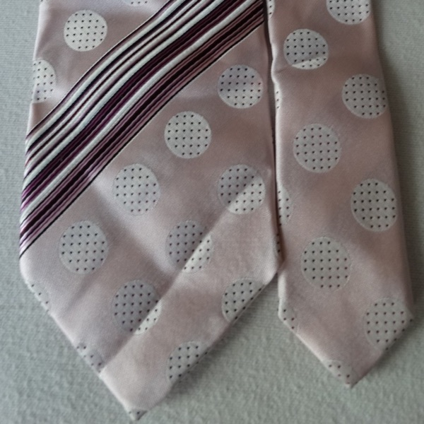Paul Smith Light Pink Spotted Tie