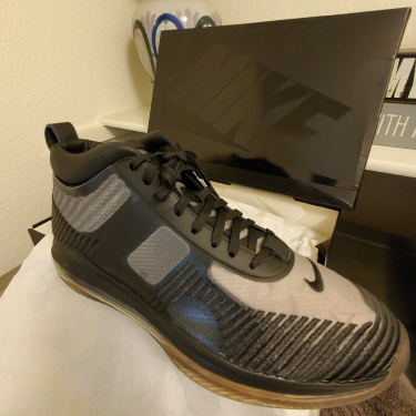 LeBron James X John Elliott Icon Shoes. There are three pairs. 400 Per pair or all three pairs for 1,100.00