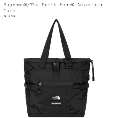 Supreme X North Face Tote Adventure Bag