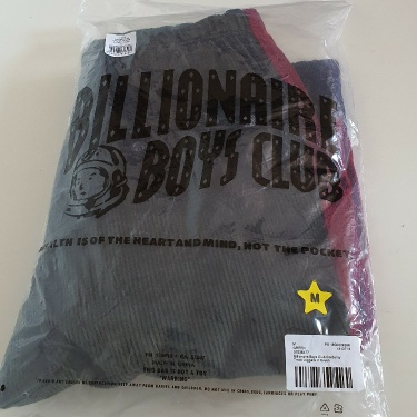 RRP £138 Billionaire Boys Club corduroy jogging bottoms