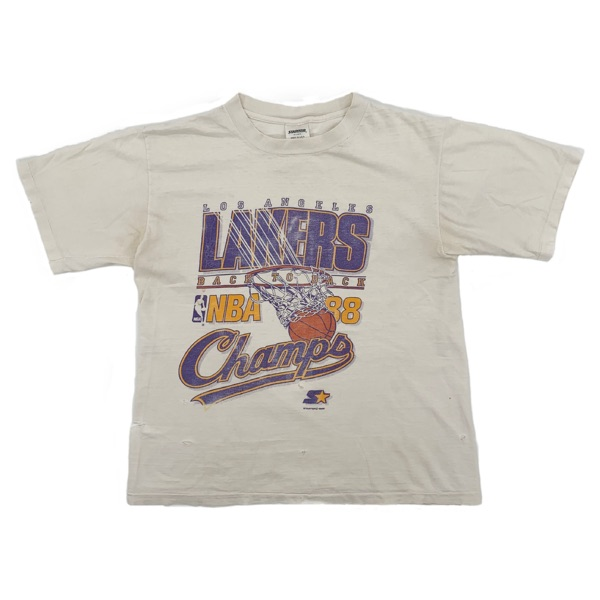 Vintage 1988 L.A Lakers Starter Tee
