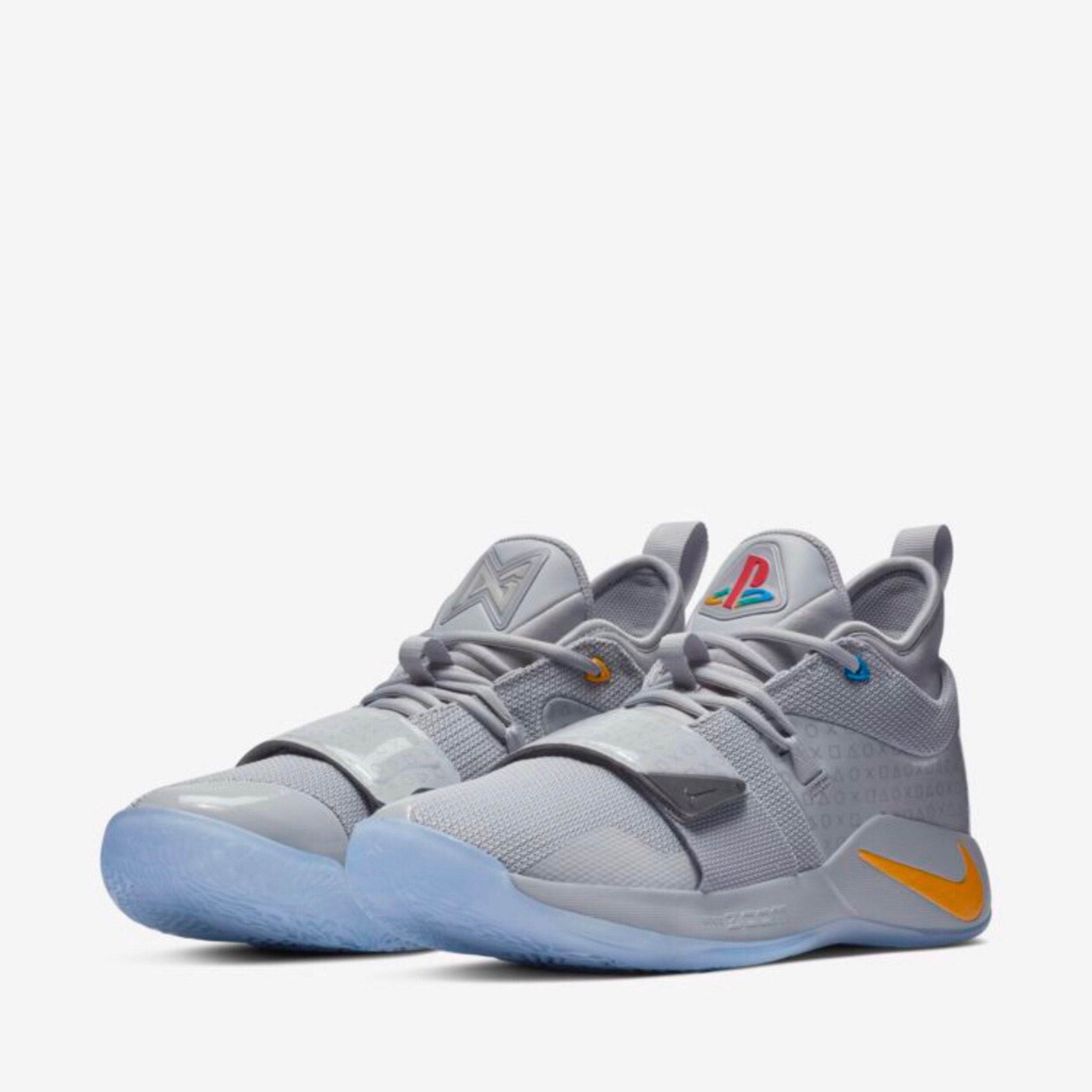 finest selection 03f1e 2c8c9 Nike Pg 2.5 Playstation Wolf Grey