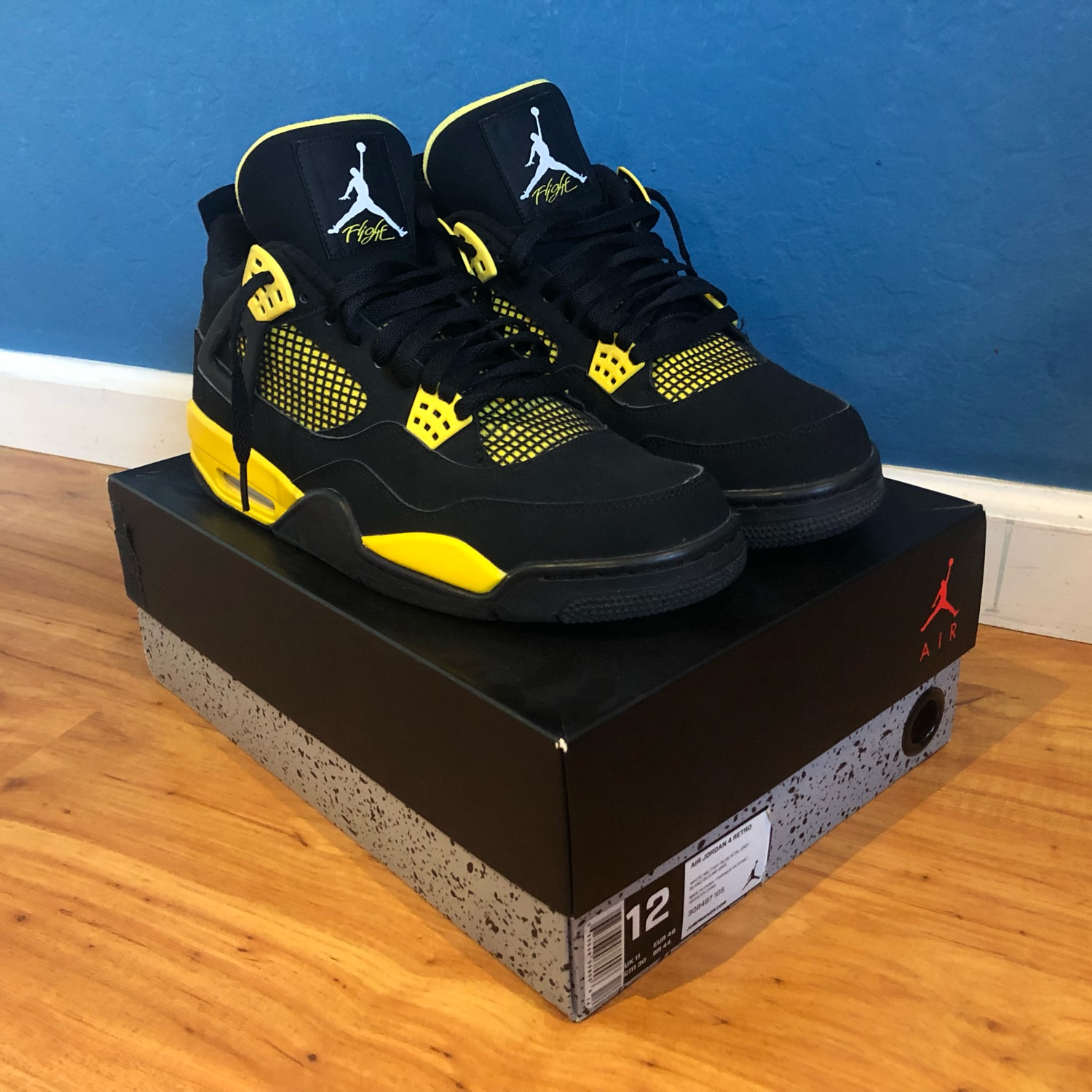 get cheap 6f0cf ebc95 Air Jordan 4 Retro  Thunder  2012