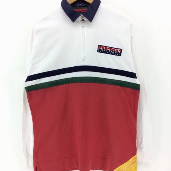Vintage Tommy Hilfiger Long Sleeve Polos Shirt