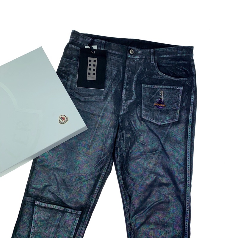 Moncler x Palm Angels Iridescent 5 Pocket Jeans