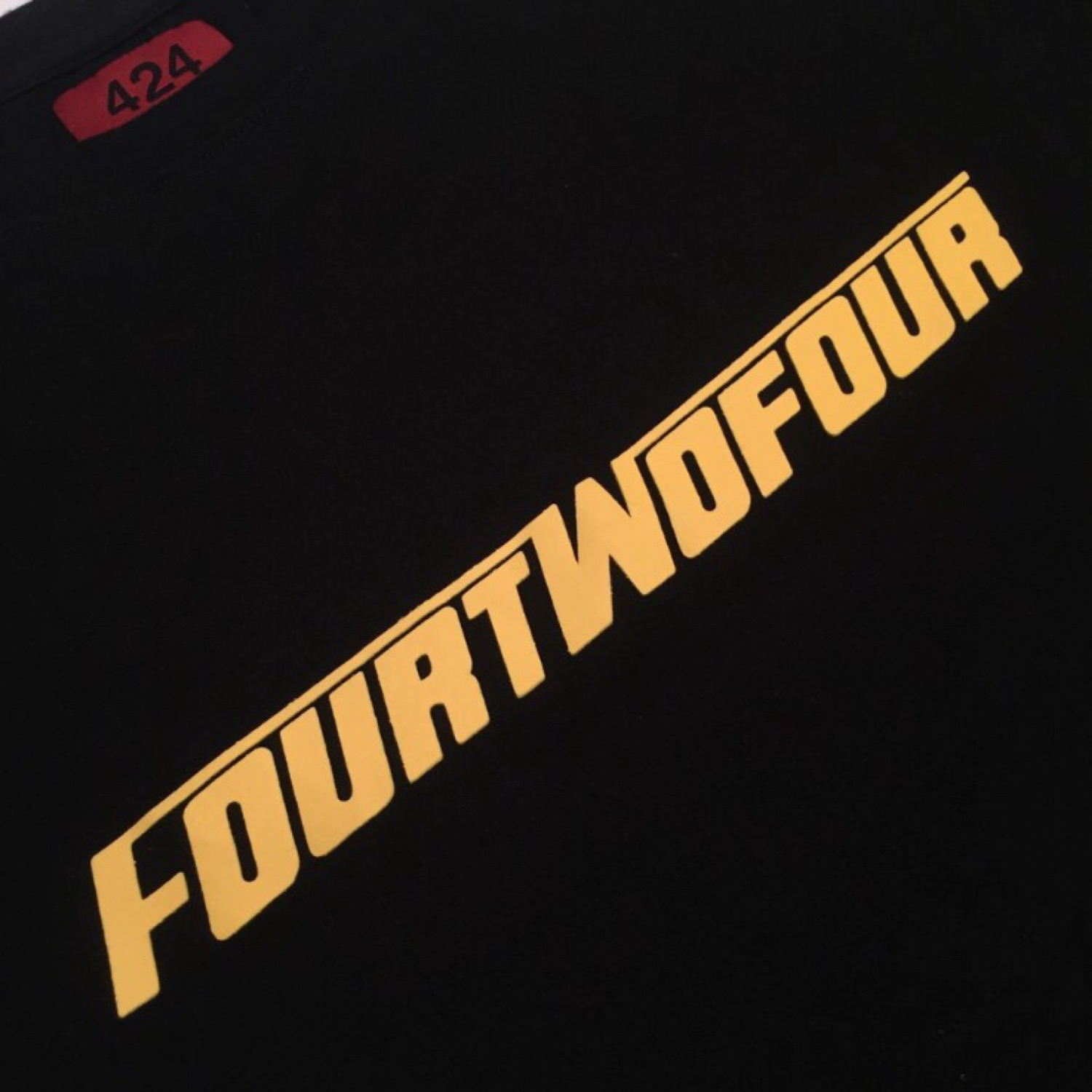 424 Four Two Four On FairFax Fast Font Tee
