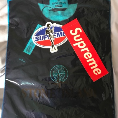 Supreme Stone Island Short Sleeve Top S/S Black