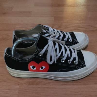 Comme Des Garcons Low Top Sneakers