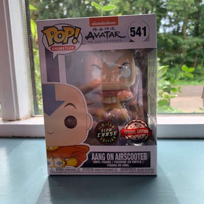 Funko Pop Avatar Aang Glow Chase Special Edition