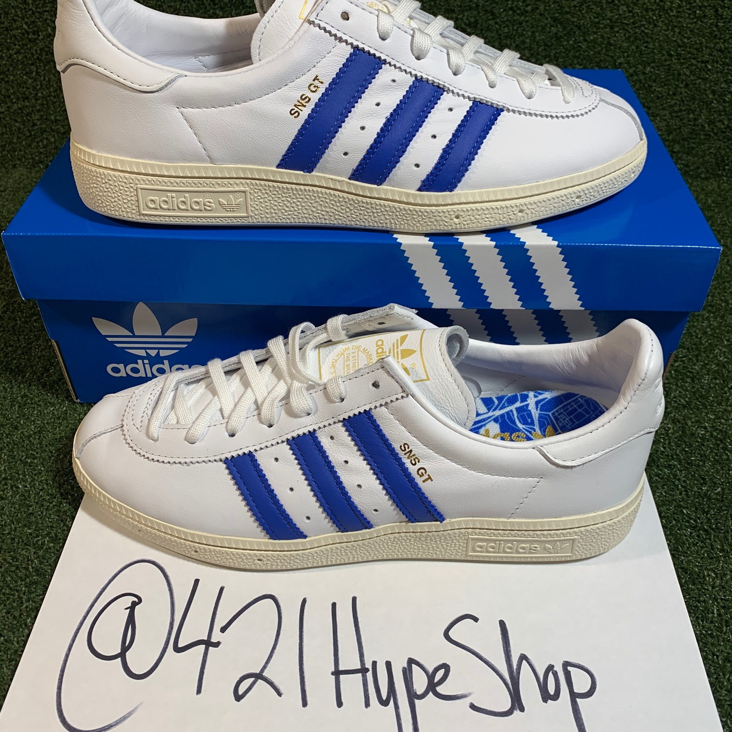 Exclusive Adidas Sns Gt Stockholm Shoes