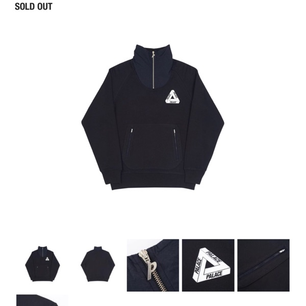 Palace P Crepe Zip Funnel