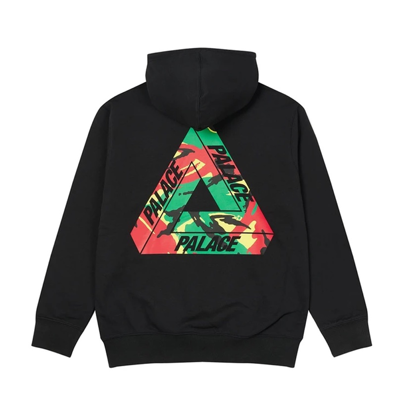 Palace Tri Camo Hood This Lockdown Black