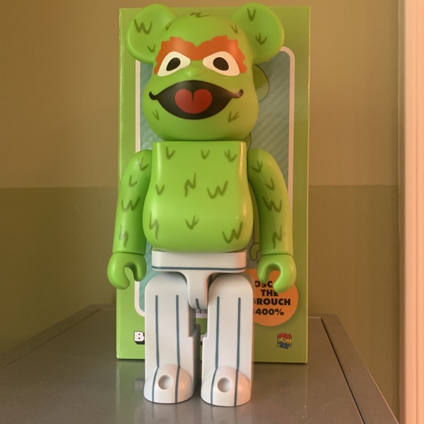 Oscar The Grouch Bearbrick