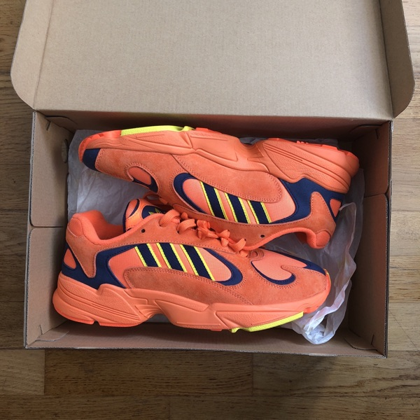 New! Adidas Yung 1 Orange Og