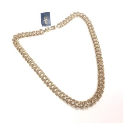 """Givenchy 30.5"""" Heavy Gold Chain Necklace Nos"""