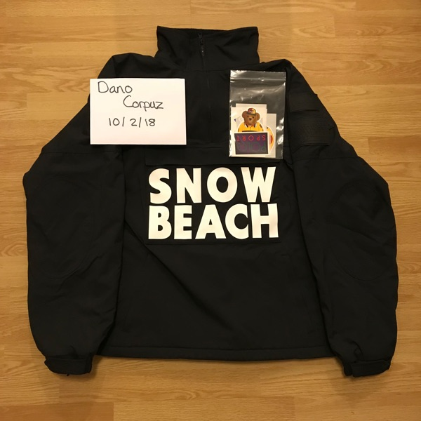 Polo Ralph Lauren Snow Beach B&W Pullover Jacket