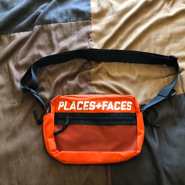 Places + Faces Red Sidebag